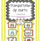 Back to School Transportation Clip Charts!  Attach these transportation Charts to a cute ribbon and hang in your room!  Just add clips with your st...