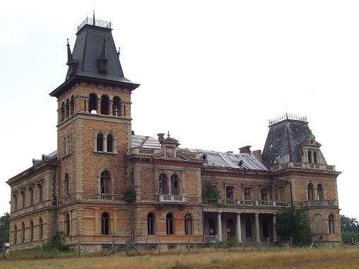 A csalapusztai Kégl- kastély