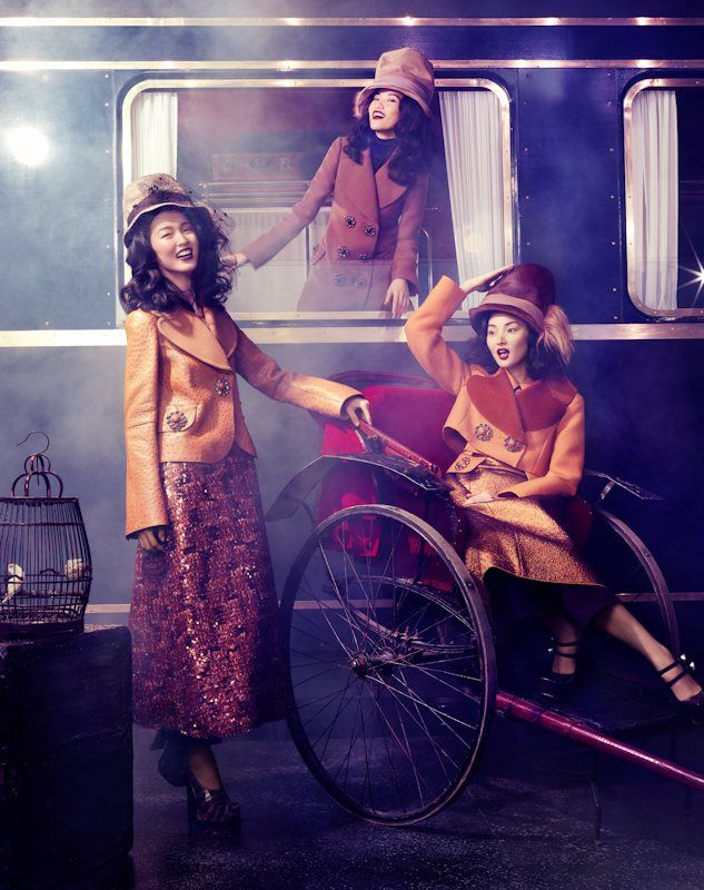 Louis Vuitton Express for Vogue China Collections F/W 2012 by Stockton Johnson