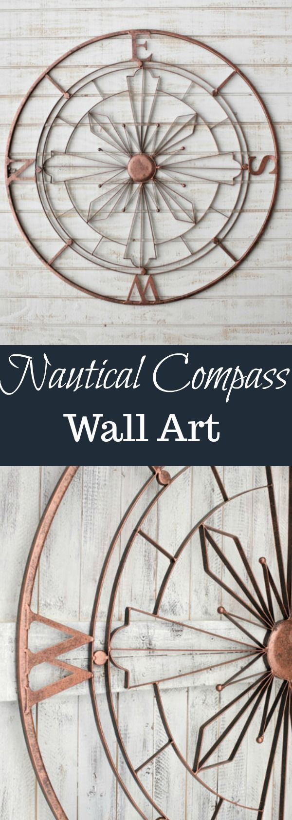 25 unique nautical compass ideas on pinterest compass rose nautical compass metal wall art rustic wall decor nautical wall decor metal wall amipublicfo Gallery