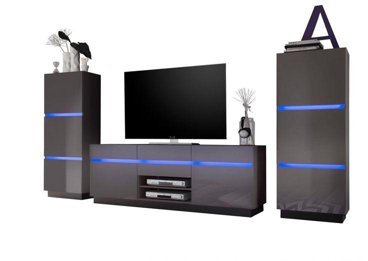Perfect Wohnw nde TV Boards Kommoden und andere M bel f r das Wohnzimmer bei vladon