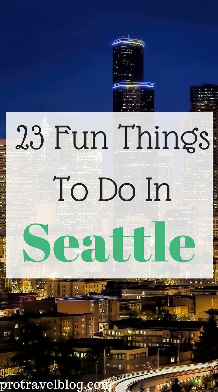 This is a big list of 23 fun things to do in Seattle for vacation or a weekend getaway to Seattle! Please check them out they are really the best things to do!