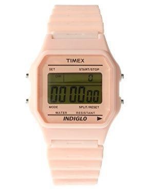 Timex 80 pink taffy watch