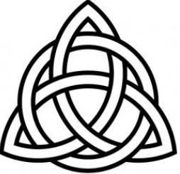 Disegno per tattoo nodo celtico Tyrone