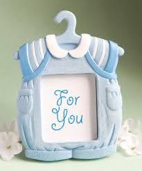 Cute Baby Themed Photo Blue Photo Frame