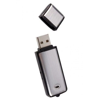 Κρυφό Καταγραφικό Ήχου USB με μνήμη 4GB