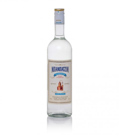 """Babatzim"" tsipouro without aniseed 700ml available at just 24.00€"