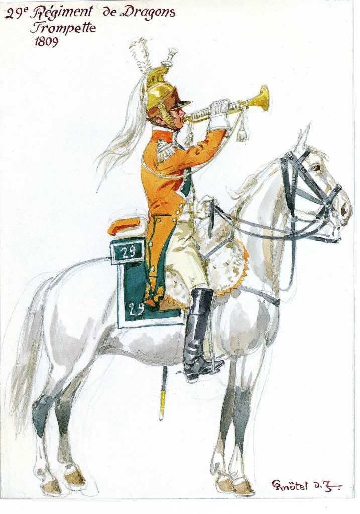 French; 29th Dragoons, Trumpeter 1809                                                                                                                                                                                 More
