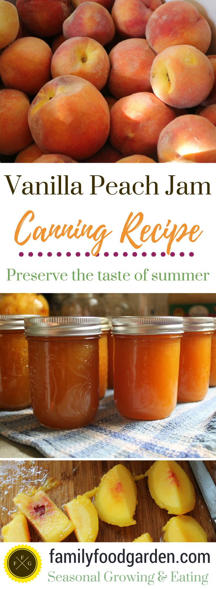 Peaches are a favorite summer fruit and preserving them for the off-season is a great way to enjoy them year-round. Every summer we can lots of peach slicesin 1 Quartjars (1L) for those snowy winter months. I also make vanilla peach jam every summer and it's delicious. Adding vanilla to peach jam just adds that...
