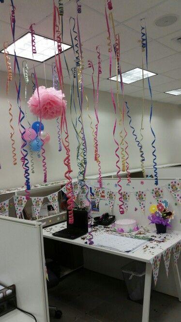 Birthday at work / office
