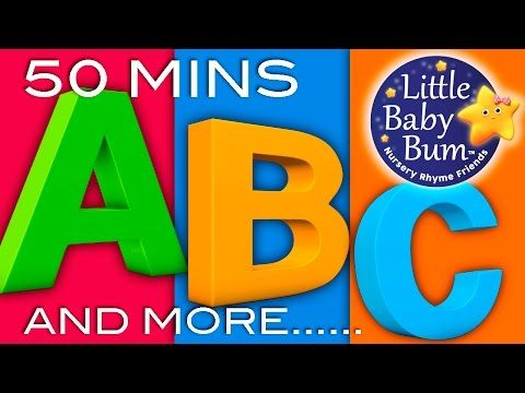 Learning Songs | ABCs, Colors, 123s, Growing-up And More! | Preschool Songs | From LittleBabyBum! - YouTube