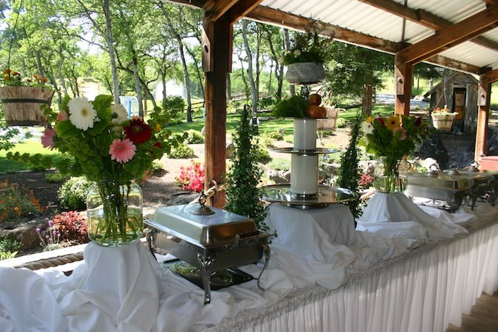 How To Decorate A Buffet: ... Buffet Table. It Was Set Up