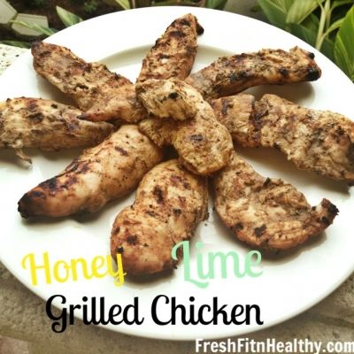 Ripped Recipes - Honey Lime Chicken - A Healthy marinade to make the perfect grilling night!