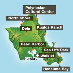 Top 10 popular activities on Oahu!