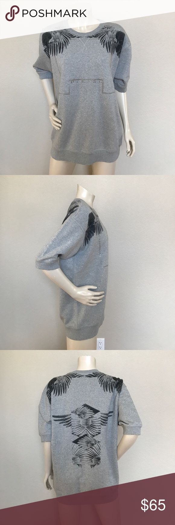 Diesel top New with tags size Large could fit a med. retails for 98. Could work for men or women Diesel Tops Sweatshirts & Hoodies