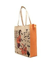 EARTHEN ME Fashionista Print Jute Bag - Find utility bags online at low prices. Compare women utility bag prices in India & buy designer #UtilityBags #HandBags #Bags #MultiUtilityBags at best deals & offers via https://youtellme.com/accessories-for-women/utility-bags/earthen-me-fashionista-print-jute-bag/