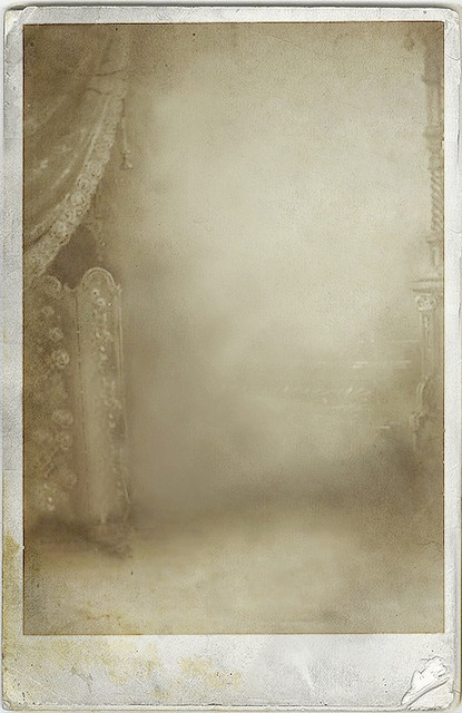 digital cabinet card  by 'Playingwithbrushes', via Flickr