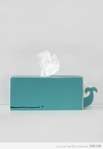 Whale TissueTissue Boxes Covers, Decor Ideas, Kids Bathroom, For Kids, Diy Fashion, Cute Ideas, Diy Gift, Tissue Holders, Whales Tissue