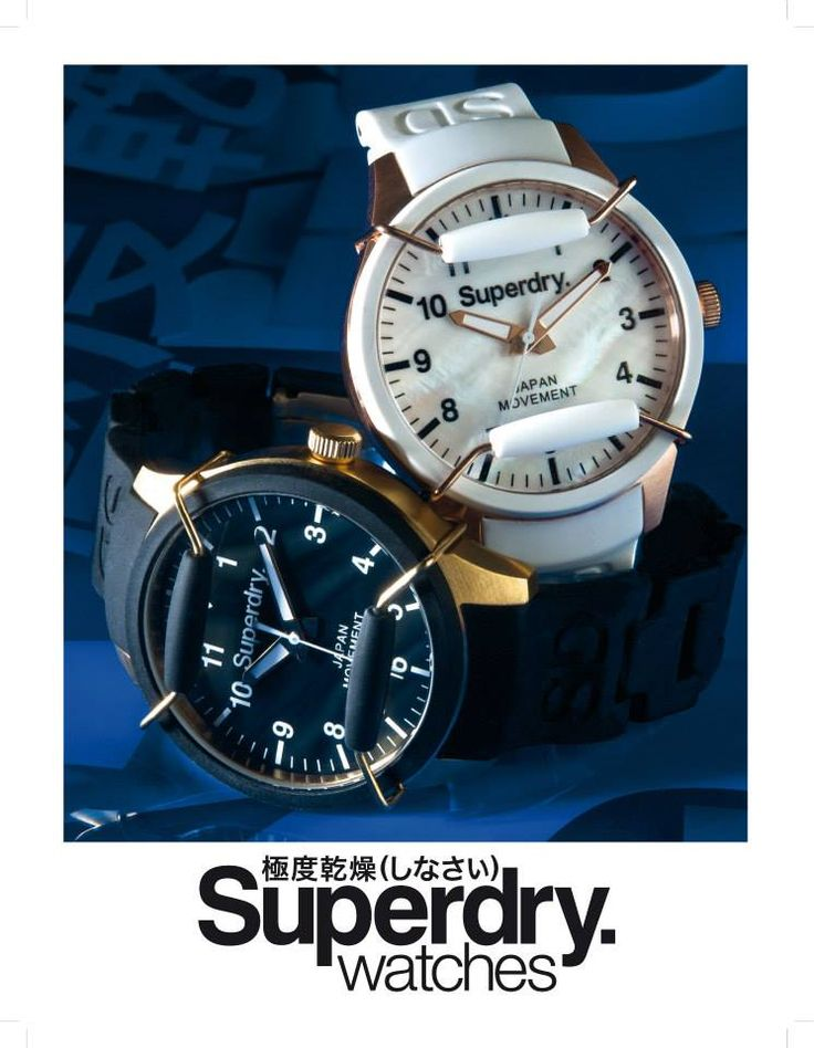 Inspired by a trip to Tokyo in 2003, Superdry fuses design influences from Japanese graphics and vintage Americana, with the values of British tailoring.  One of the main reasons Superdry watches have become as popular as they are today is not only their contemporary styles, but also the wide array of colors they offer.