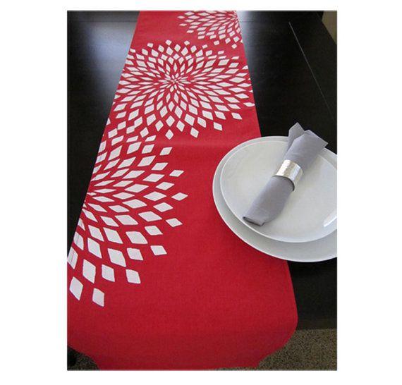 furniture runners. handpainted table runner furniture runners o