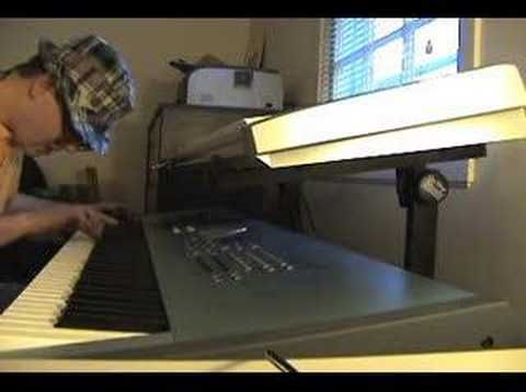 Stay Crunchy by Ronald Jenkees.   This guy is just amazing. The way his fingers almost glide on the keys. And he says he doesn't have natural talent.