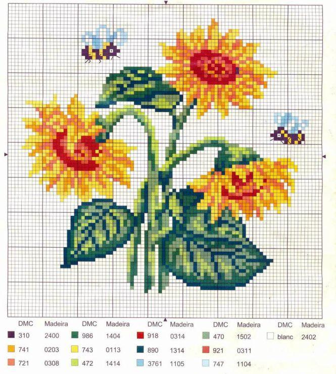 Sunflowers Chart