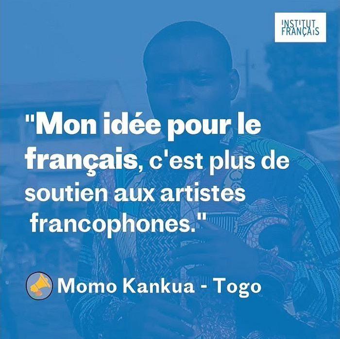 Partagez votre opinion sur la langue française jusqu'au 20 mars 2018 ©Institut Français