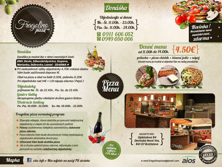 Fragolino Pizza | Bratislava - Devínska Nová Ves