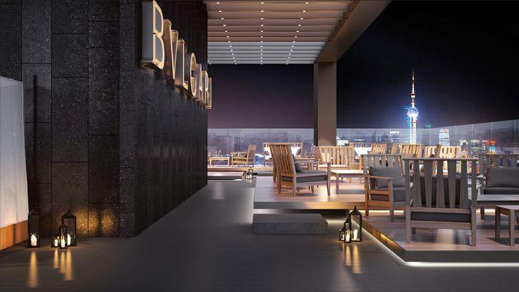The new Bulgari Hotel Shangai.Thanks to @Paola Ragnoli. #bulgarihotels