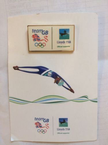 London 2012 #olympic team gb lloyds tsb official #supporters pin #badge,  View more on the LINK: 	http://www.zeppy.io/product/gb/2/262792093871/