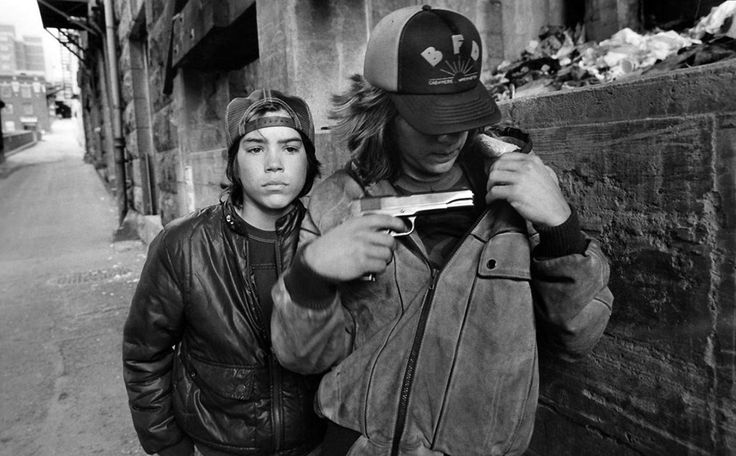 """Characters from the documentary """"Streetwise"""", photographed in an essay for LIFE magazine by Mary Ellen Mark"""
