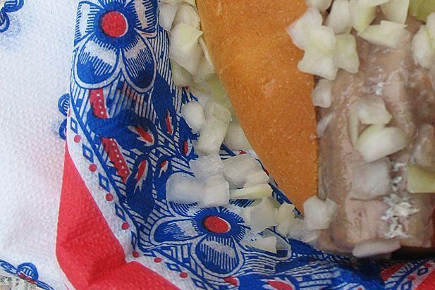 Dutch Herring (Hollandse Nieuwe Haring) Craving a herring sandwich right now...