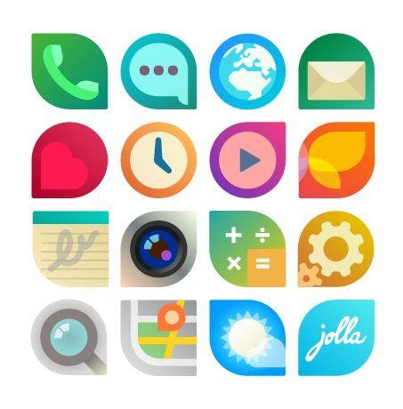 The Sailfish OS Apps Icon Story #Jolla