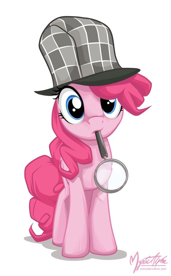 Pinkie Pie - something of a mystery, but you'll come to just accept it because she's so darn lovable. She can be perky, quirky, and in your face, but that's what you'll love about her.