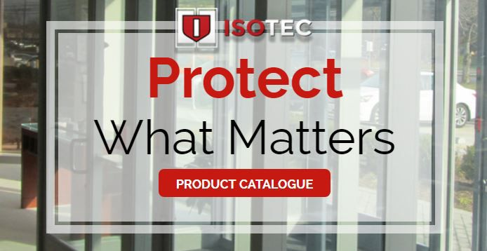 Ballistic Bullet Proof Resistant Glass Doors  -  Bullet proof doors are better defined as bullet resistant or ballistic doors. Isotec Security Inc.'s glass doors are made from ballistic resistant aluminum and UL 752 glass. Contact us now! #Bullet #Proof #Resistant #Glass #Doors