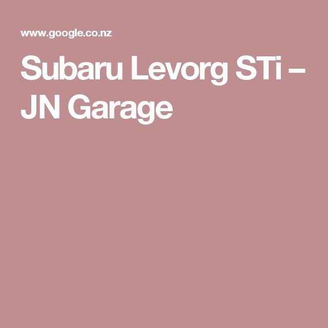 Subaru Levorg STi – JN Garage