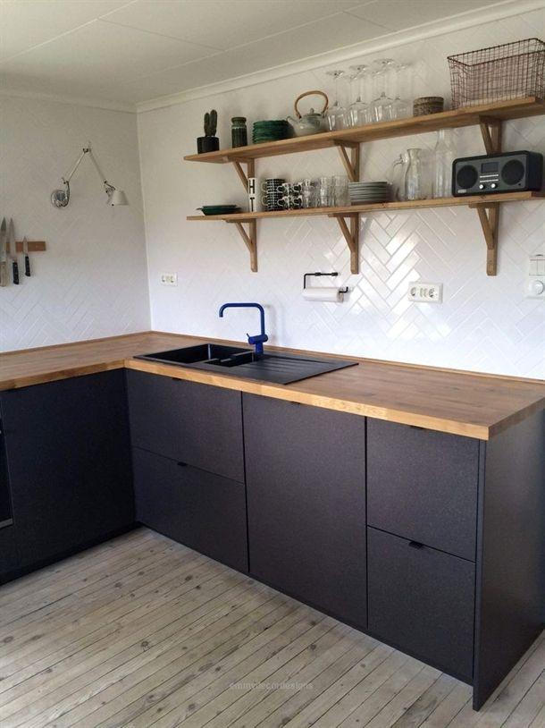 Breathtaking 46 Best Ikea Kitchen Design Ideas 2019 Crunchhome Com Emmy S Designs Ikea Kitchen Design Ikea Kitchen Wood Kitchen Cabinets