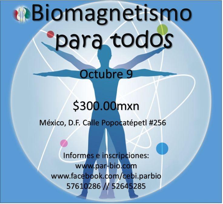 Centro de Estudio e Investigación de Biomagnétismo Holístico yTécnicas Bioenergéticas para el Desarrollo Humano A.C. te invita a participar en: #Biomagnetismo#Coyoacán#Popocatépetl#MéxicoDF#TerapiasAlternativas#TecnicasBioenergeticasCoyoacán, Distrito Federal, Mexico#BiomagnetismoMedico#Cursos#Alternativas