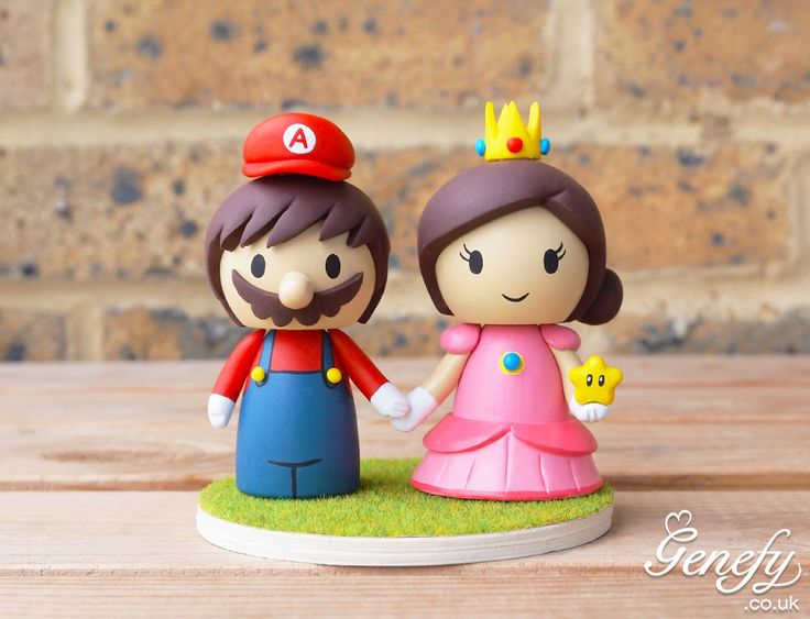 195 Best Images About Cute Wedding Cake Toppers By Genefy Playground On Pinterest