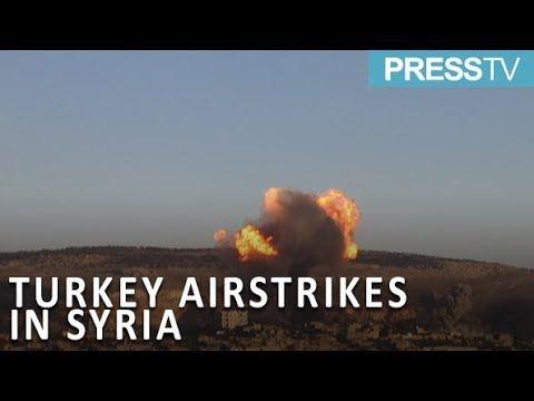 #news#WorldNewsPress TV News : Syria: Smoke clouds Afrin as Turkey launches airstrikes