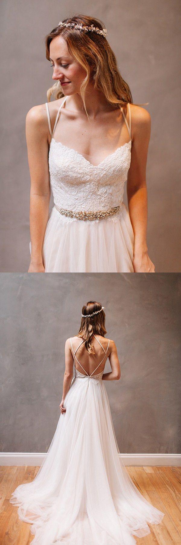 wedding dresses,sleeveless wedding dresses,tulle wedding dresses,cheap open back wedding dresses