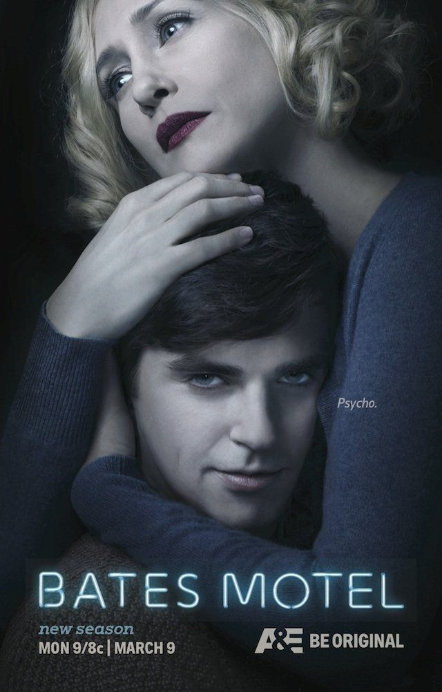 A&E's Bates Motel Season 3 is set to premiere this upcoming Monday March 9, 2015 at 9:00 ET/PT. This season teases even more creepiness from returning cast members Freddie Highmore, Vera Farmiga and Max Thieriot. I have to admit that I trailed off a bit on the last season but I did make it halfway through, just need to watch the rest before this new season airs. Did you like season 2 and how excited are you to see the third season A&E's Bates Motel?