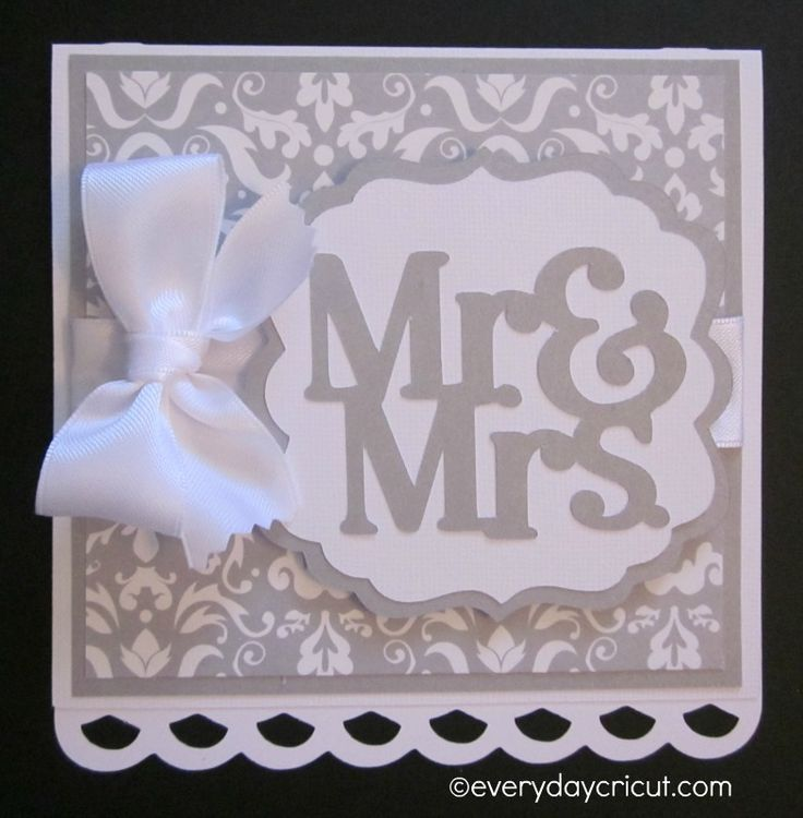 Everyday Cricut Close To My Heart Ctmh Artiste Wedding Card