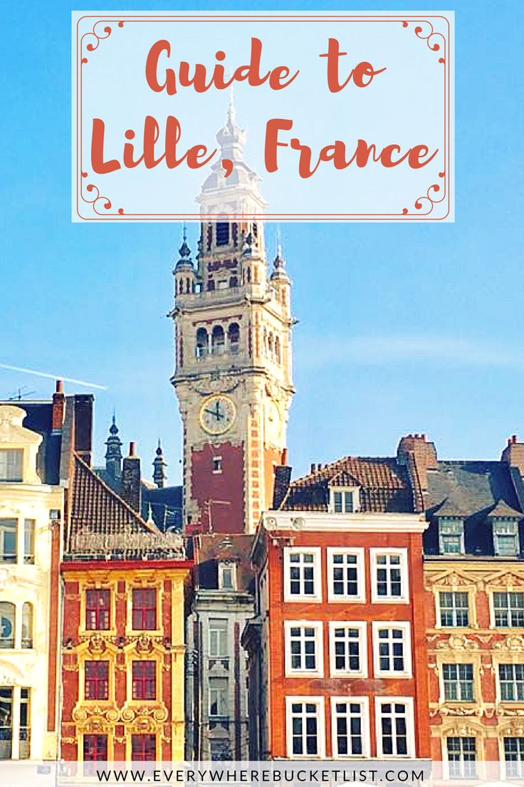 Lille is located so close to the UK, Belgium, Germany and The Netherlands - making it the perfect weekend trip destination! Check out this perfect guide to Lille in France!