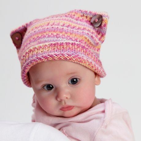 Cute as a kitten (free knitting pattern) by Kirstie McLeod   TheMakingSpot