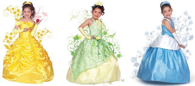 Vestidos de Princesas para Niñas
