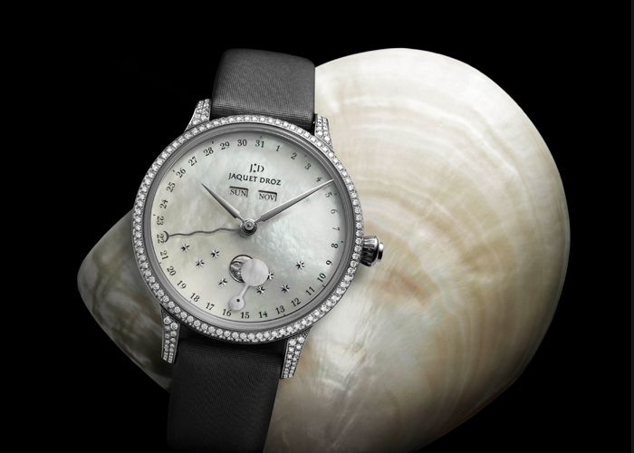 The Eclipse Mother-of-Pearl by Jaquet Droz