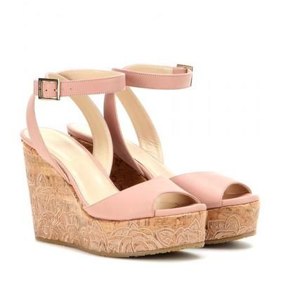 Jimmy Choo - Philo leather wedges #shoes #jimmychoo #women #designer #covetme