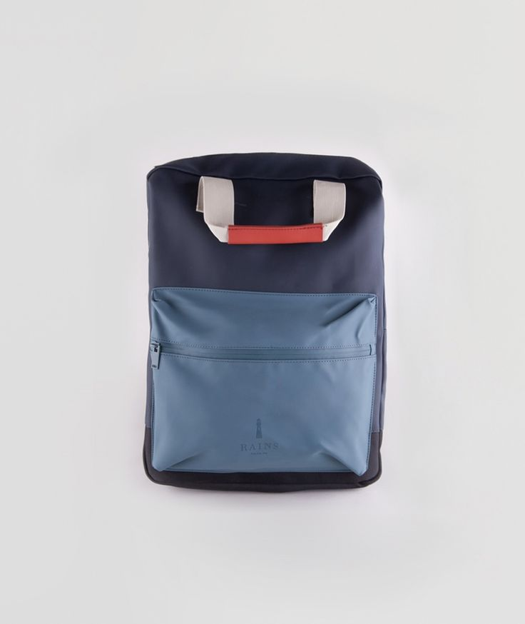 RAINS Scout Rucksack blue/rust/pacific