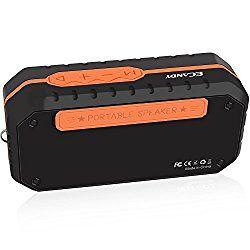ECANDY 防水Bluetoothスピーカー ミニHIFIアウトドアワイヤレススピーカー 3.5mmオーディオTFカード入力 USBポート搭載 (X1オレンジ) おすすめ度*1 ASIN B01J9QEVZ0 Bluetooth対応コンパクトワイヤレススピーカー。同種のスピーカーの中でもとくに小さめで携行性は高い。 通信性能的には遅延はごく少しだけあるが、動画鑑賞などには問題なく、目立った不自然さはない。 【1】外観・インターフェース・付属品 付属品は英語マニュアルとUSB充電とAUX入力を兼ねたケーブルが1本付属する。 本体上面に操作パネルがあり、Play/Pauseやモード変更、ボリュー…